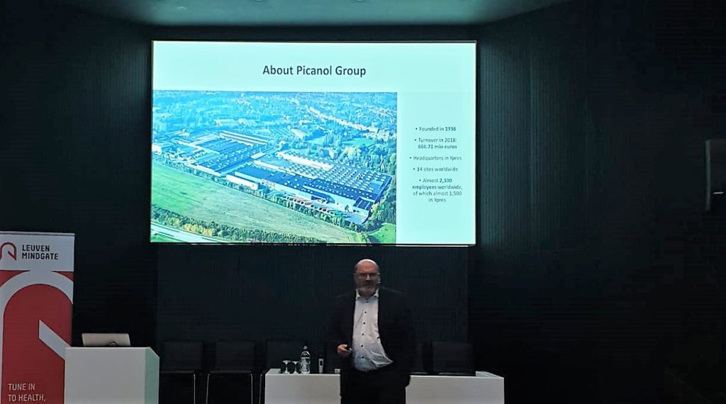 Geert Ostyn explains Picanol Group's business case and the issues they have encountered in getting employees to accept technology advances.